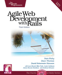 Cover of Agile Web Development with Rails (Third Edition)
