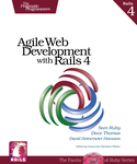 Cover of Agile Web Development with Rails (Fourth Edition)