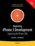 Cover of Beginning iPhone 3 Development