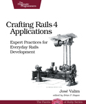Cover of Crafting Rails 4 Applications
