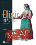 Cover of Elixir in Action, Second Edition