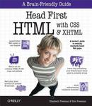 Cover of Head First HTML with CSS & XHTML