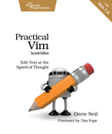 Cover of Practical Vim, Second Edition