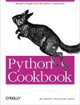 Cover of Python Cookbook
