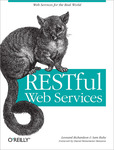 Cover of RESTful Web Services